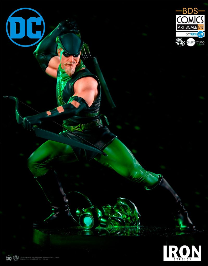 Iron Studios DC Comics Green Arrow Art Scale Statue