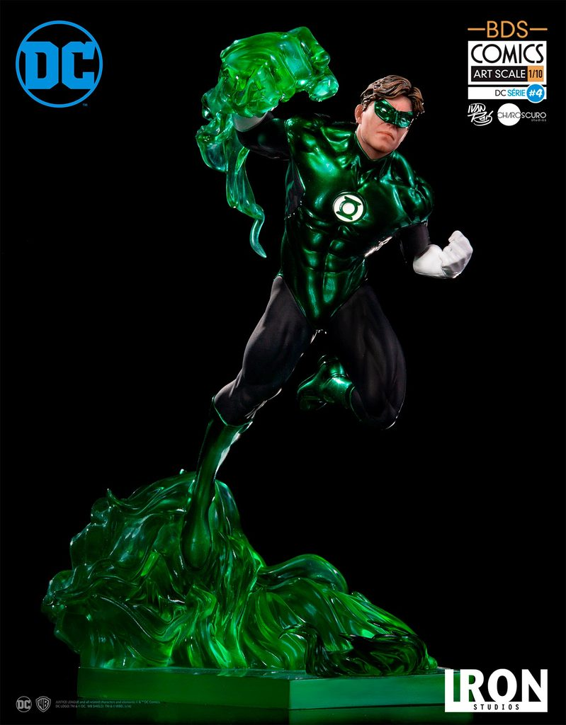 Iron Studios DC Comics Green Lantern Art Scale Statue