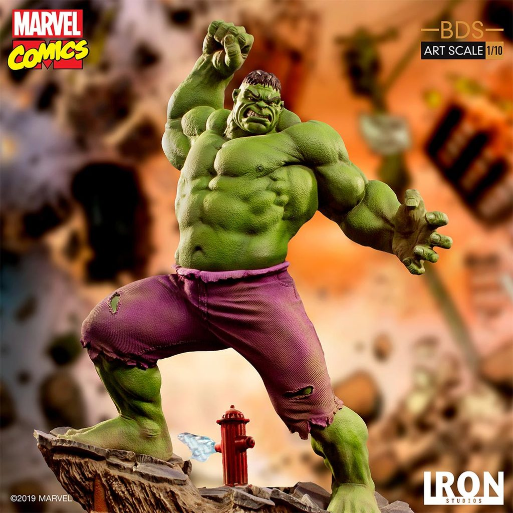 Iron Studios Marvel Hulk Art Scale Statue