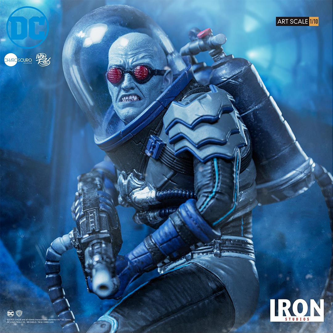 Pre-Order Iron Studios DC Comics Mr. Freeze Art Scale Statue