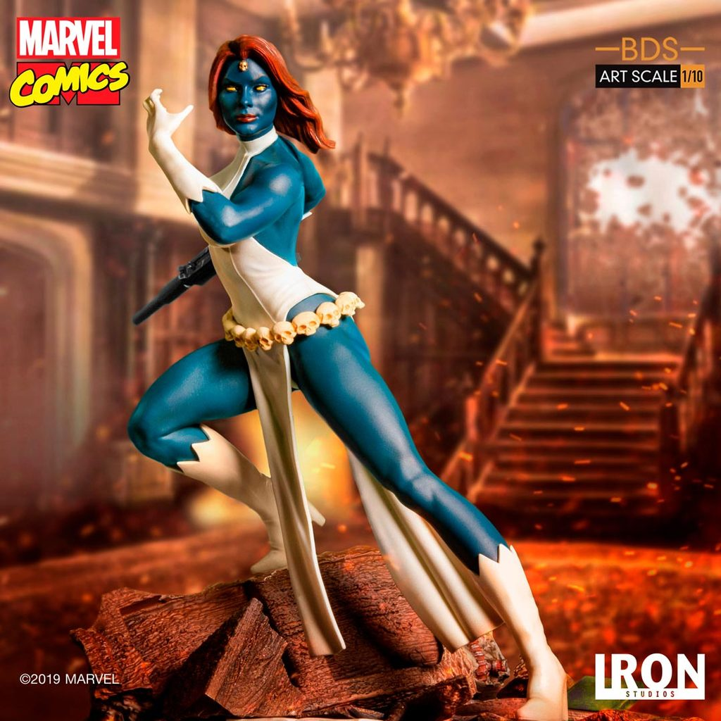 Pre-Order Iron Studios Marvel Mystique Art Scale 1:10 Statue