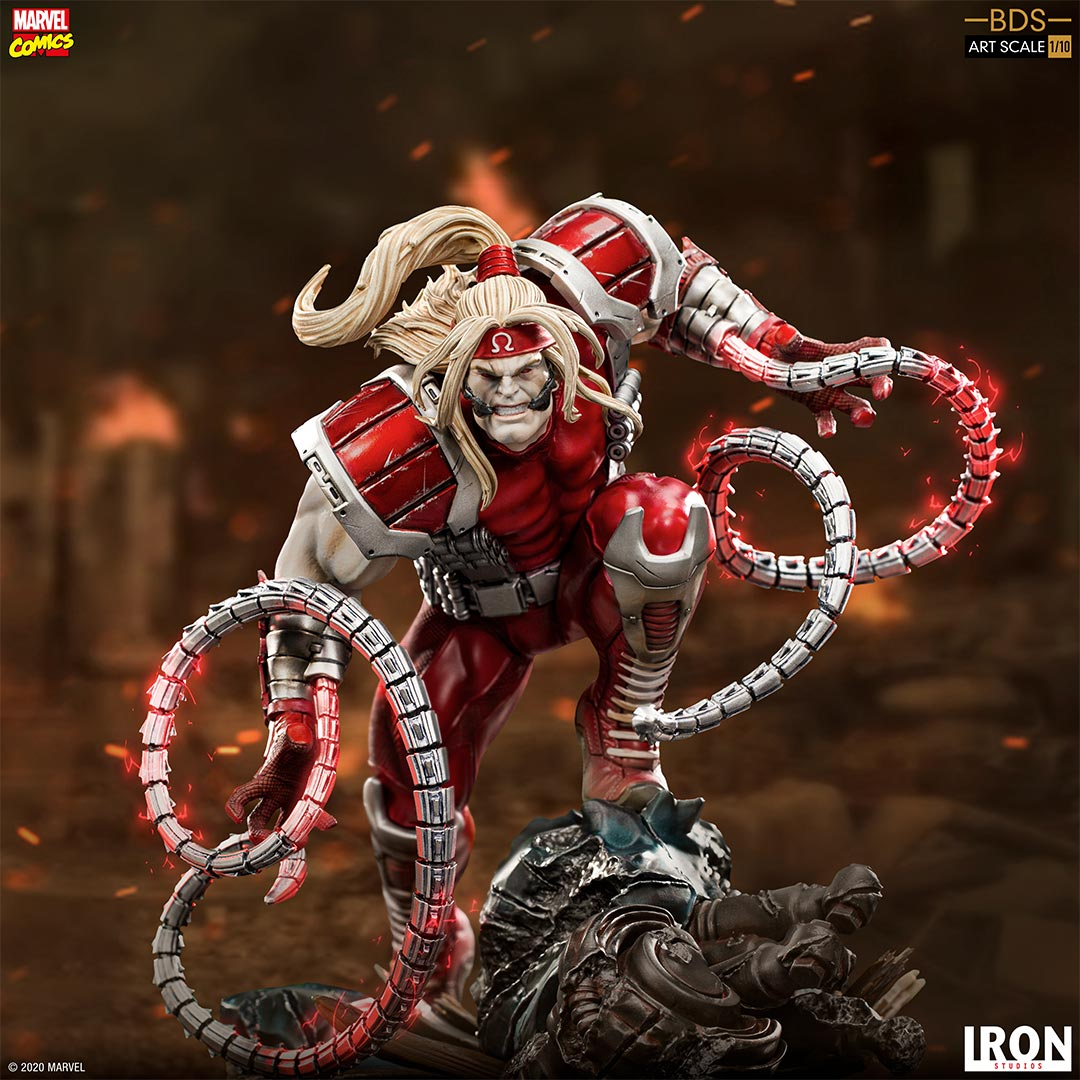 Pre-Order Iron Studios Marvel Omega Red Art Scale Statue