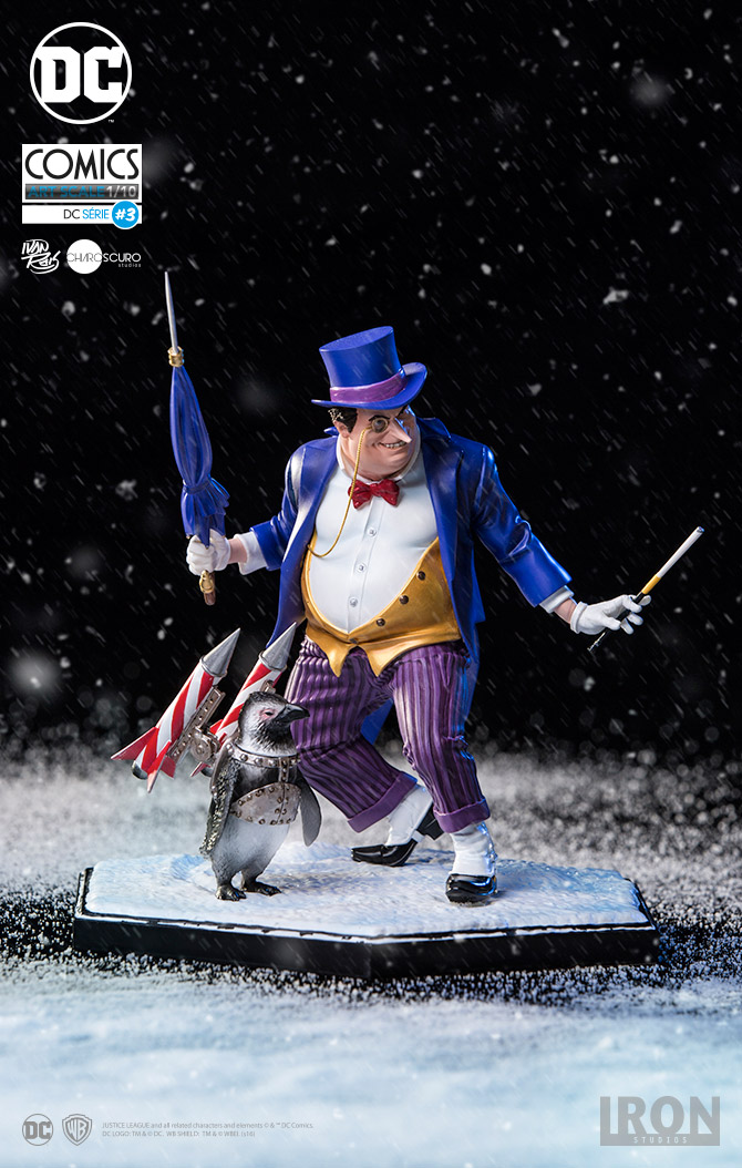 Iron Studios DC Comics Penguin Art Scale 1/10 Statue