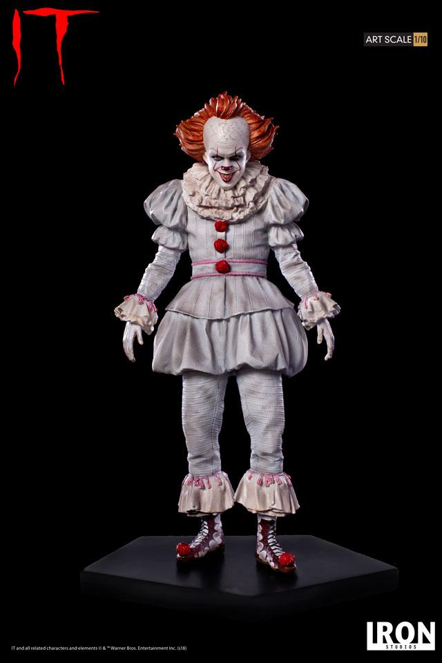 Iron Studios It 2017 Movie Pennywise Art Scale Statue