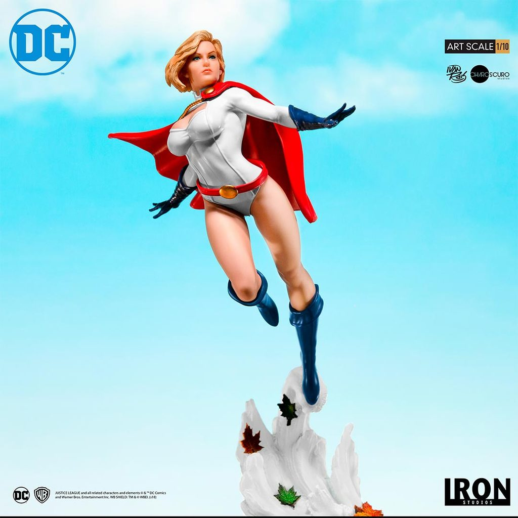 Pre-Order Iron Studios DC Comics Power Girl Art Scale Statue