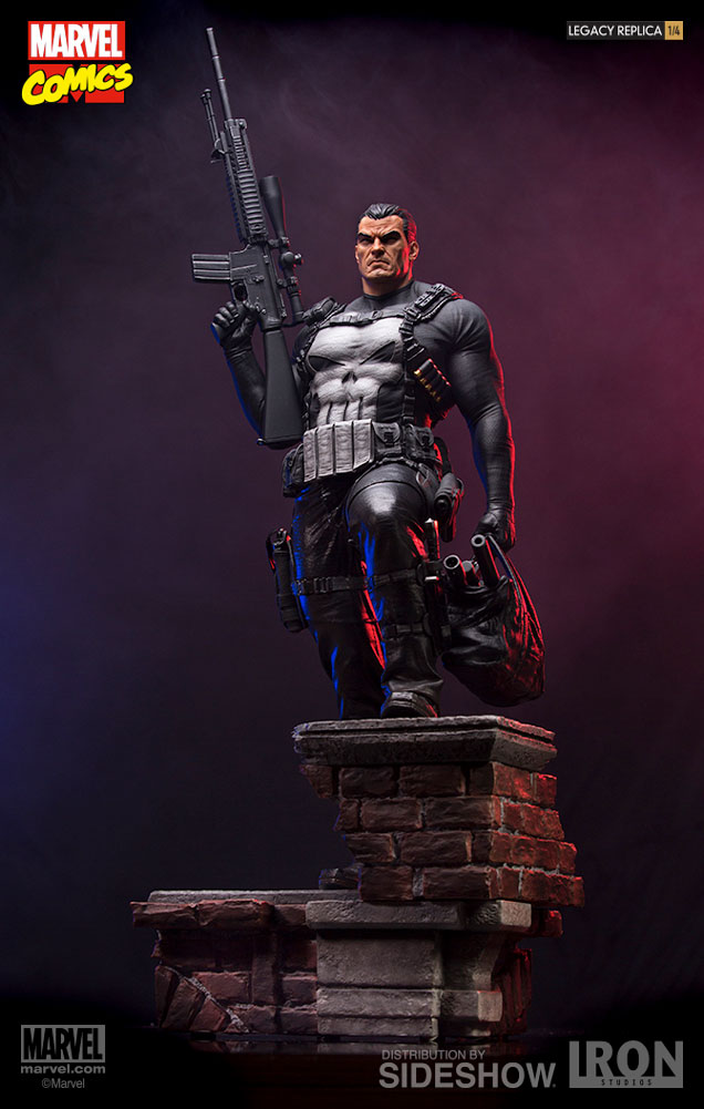 Iron Studios Marvel Punisher Legacy Replica 1:4 Scale Statue