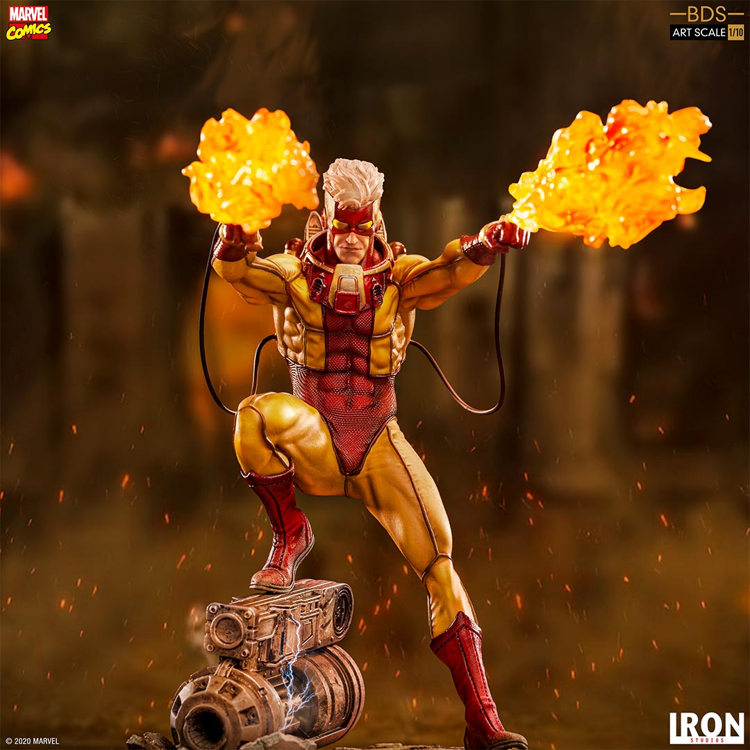 Iron Studios Marvel Pyro Art Scale Statue