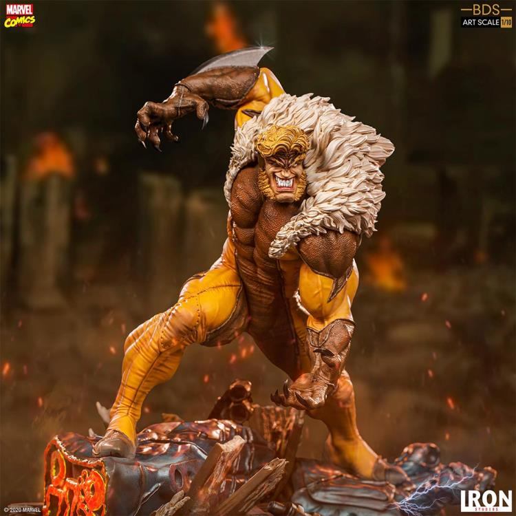 Pre-Order Iron Studios Marvel Sabretooth Art Scale Statue