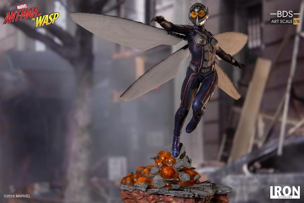 Pre-Order Iron Studios Marvel Wasp Art Scale 1:10 Statue