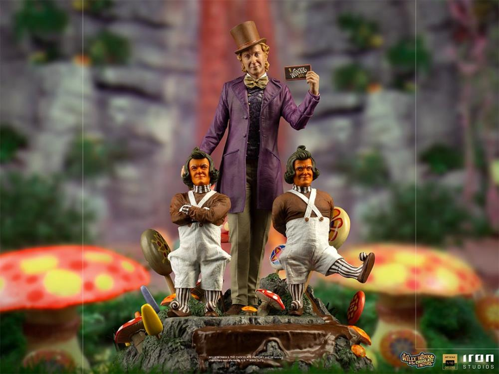 Pre-Order Iron Studios Willy Wonka & the Chocolate Factory
