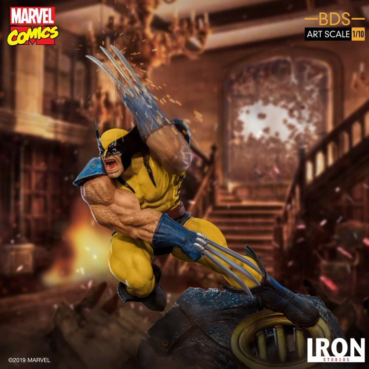 Iron Studios Marvel Wolverine Art Scale Statue