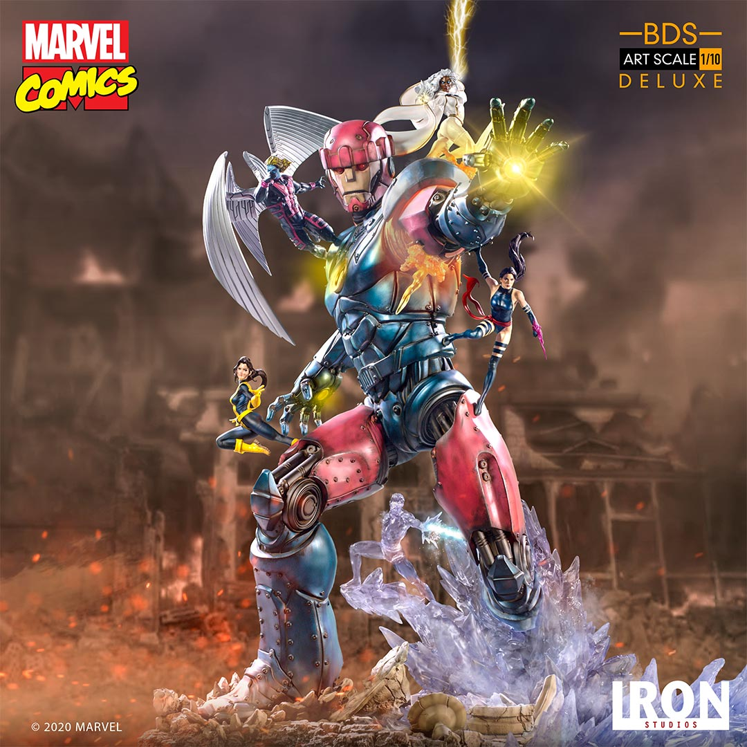 Pre-Order Iron Studios X-Men Vs. Sentinel #3 DLX Battle Diorama