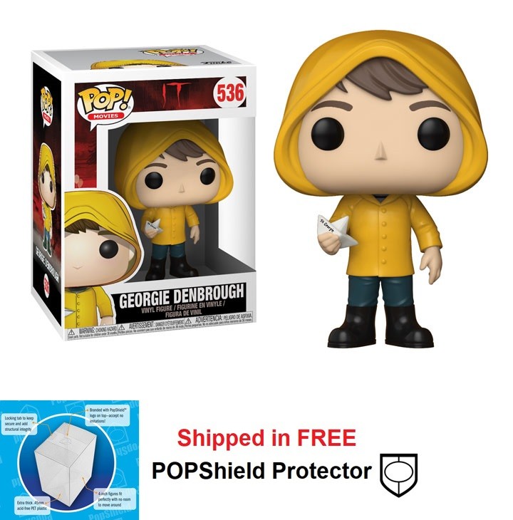 Funko POP Movies It Georgie Denbrough Figure - #536