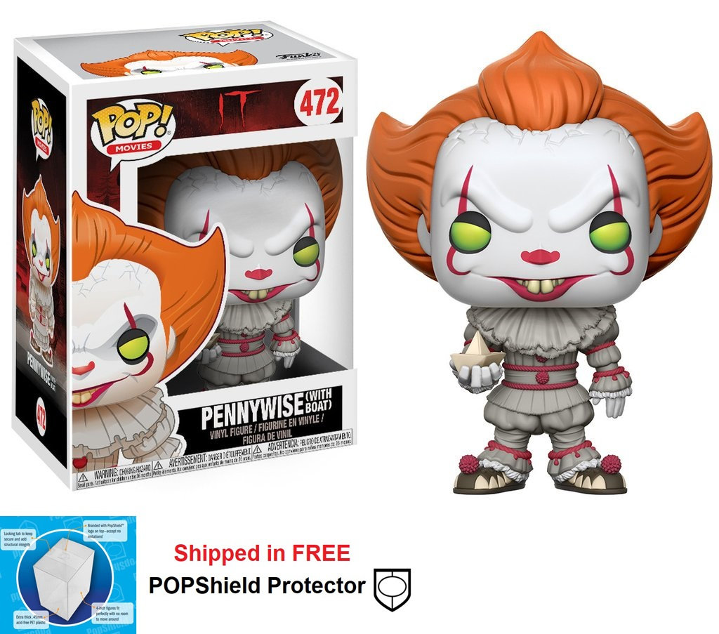Funko POP Movies It Pennywise Figure - #472