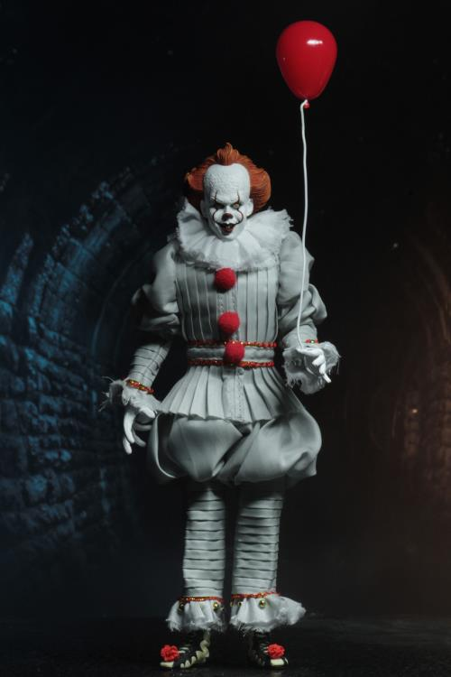 Pre-Order NECA It 2018 Pennywise Clothed Figure