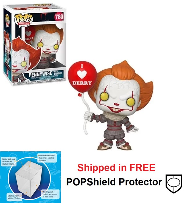 Funko POP Movies It Chapter 2 Pennywise w/Balloon - #780