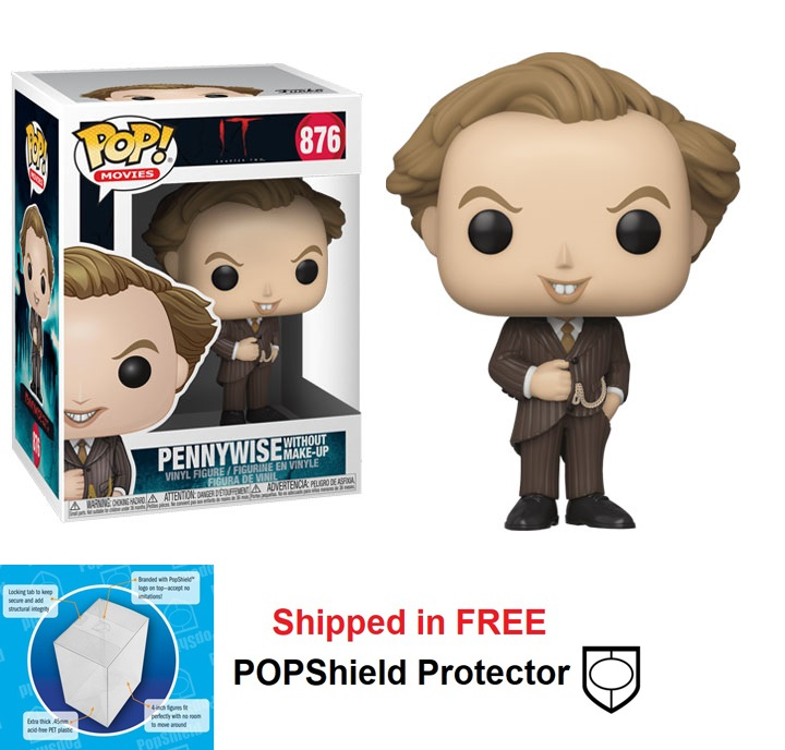 Funko POP Movies It Chapter 2 Pennywise Without Makeup - #876