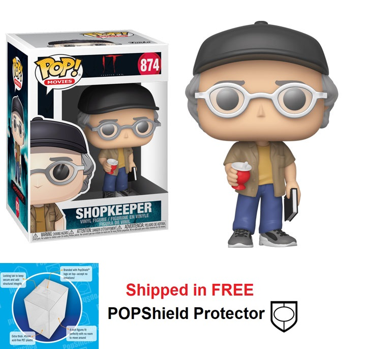 Funko POP Movies It Chapter 2 Shopkeeper - #874