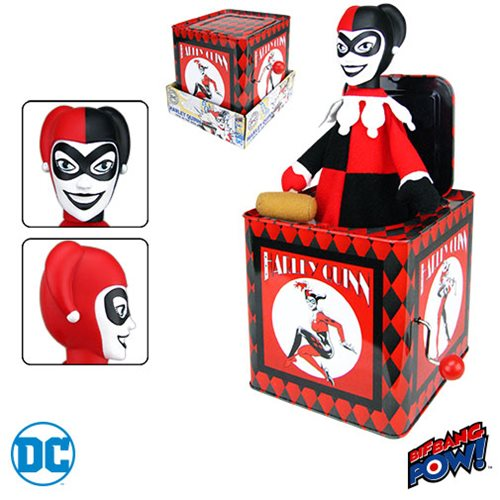 Bif Bang Pow DC Comics Harley Quinn Jack in the Box