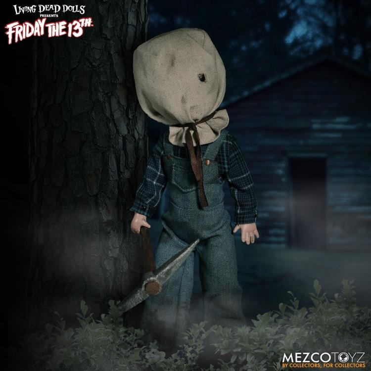 Mezco Jason Voorhees Friday the 13th Pt 2 DLX Living Dead Doll