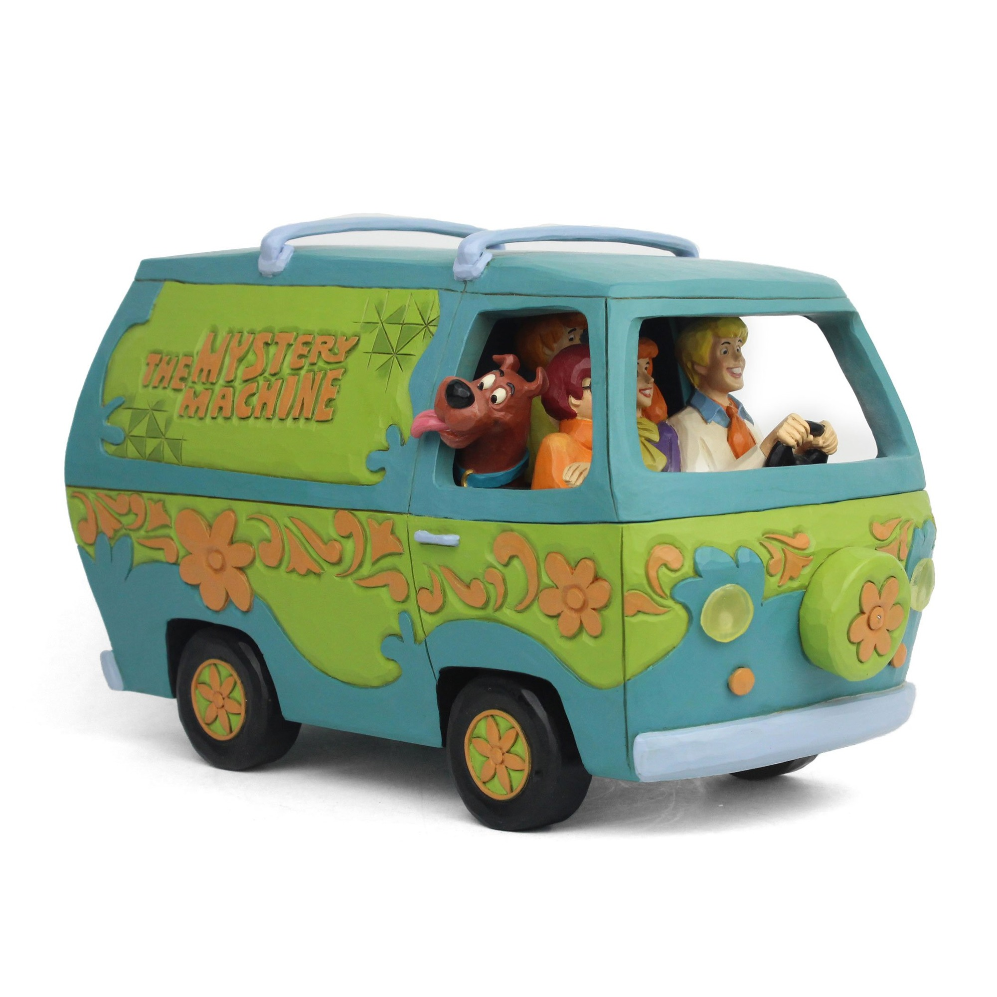 Scooby-Doo Jim Shore Mystery Machine Statue