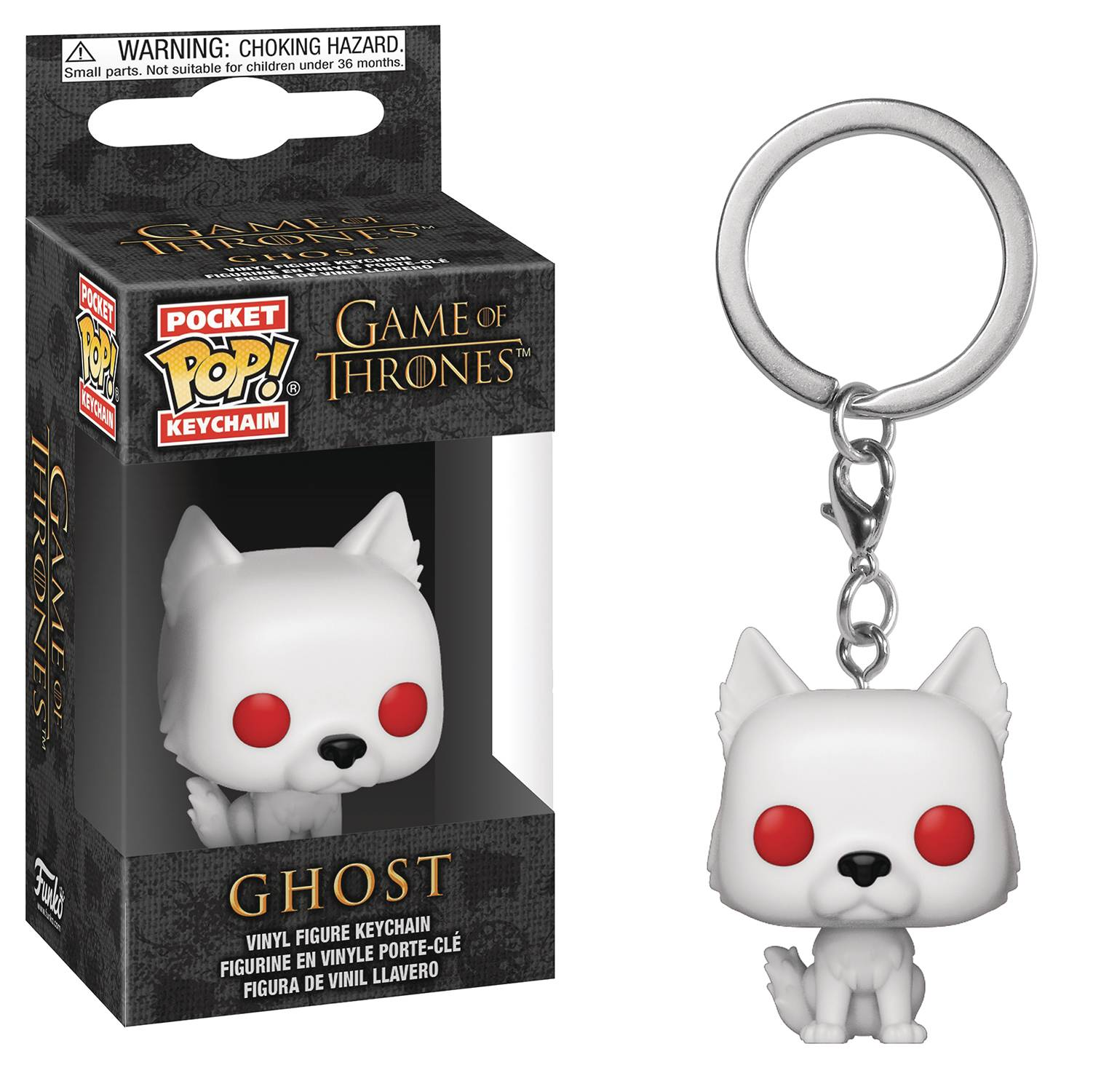 Funko Pocket POP Keychain Game of Thrones Ghost