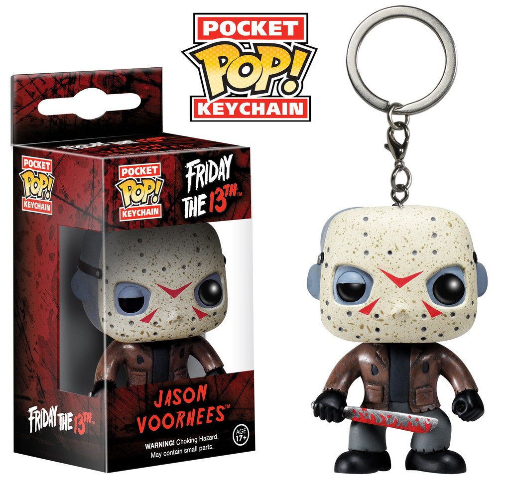 Funko Pocket POP Keychain Friday the 13th Jason Voorhees