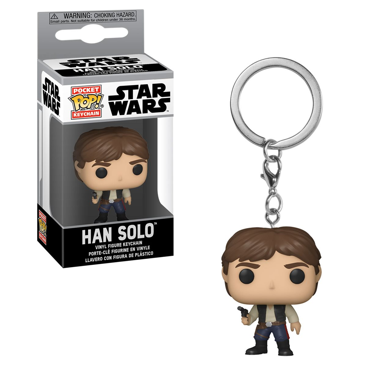 Funko Pocket POP Keychain Star Wars Han Solo