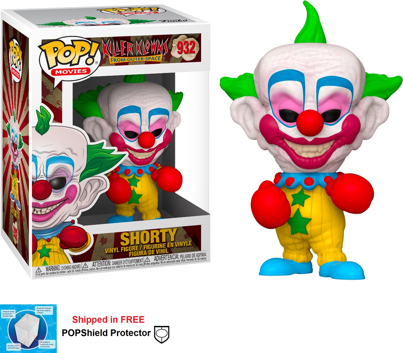 Funko POP Movies Killer Klowns From Outer Space Shorty - #932