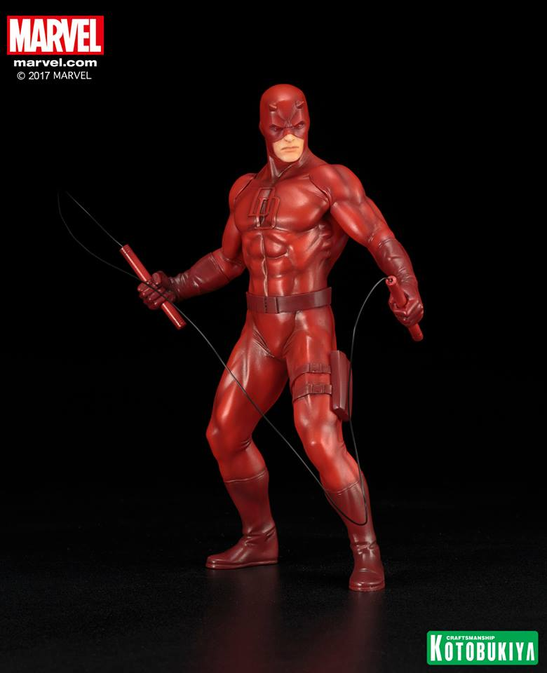 Kotobukiya Marvel Defenders Daredevil Red ARTFX+ Statue