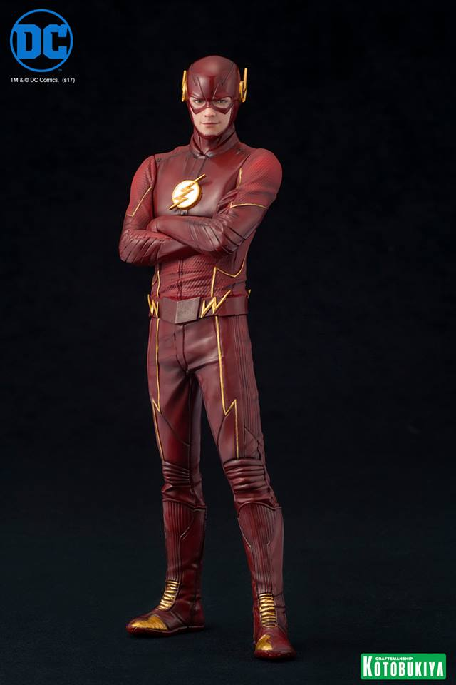 Kotobukiya DC Comics Flash TV Series ARTFX+ Statue