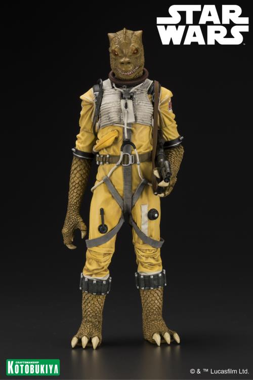 Kotobukiya Star Wars Bounty Hunter Bossk ARTFX+ Statue