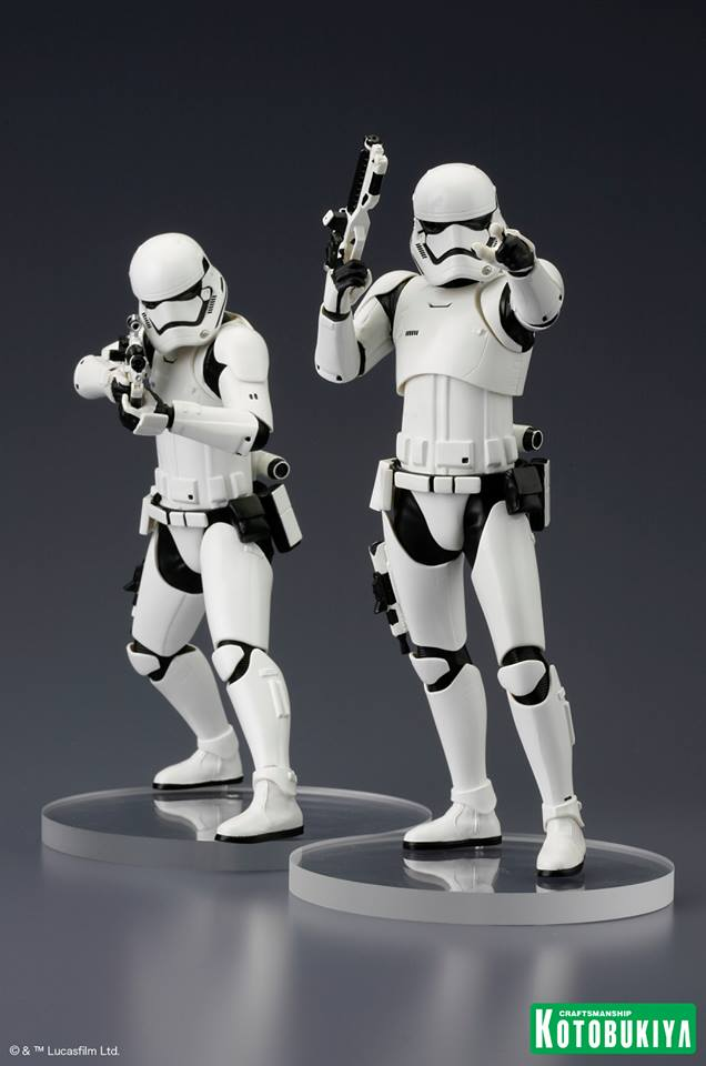 Kotobukiya Star Wars Force Awakens First Order Stormtrooper 2PK