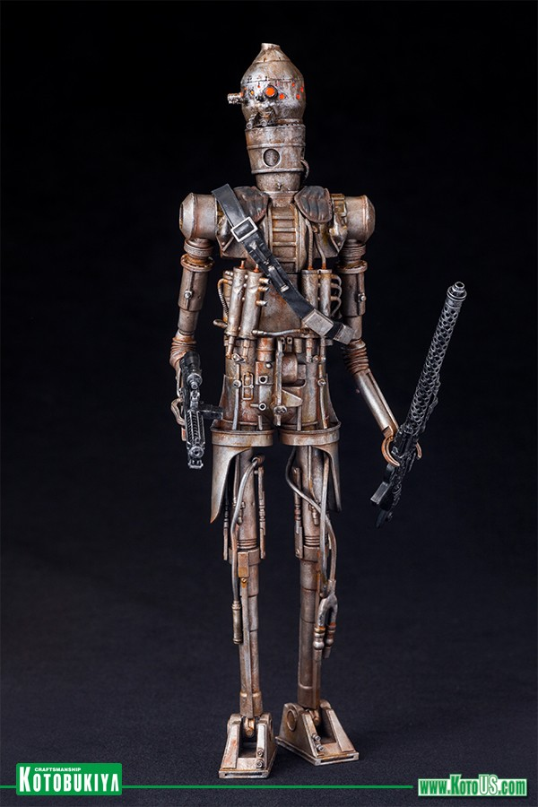 Kotobukiya Star Wars Hunter IG-88 Bounty Hunter ARTFX+ Statue