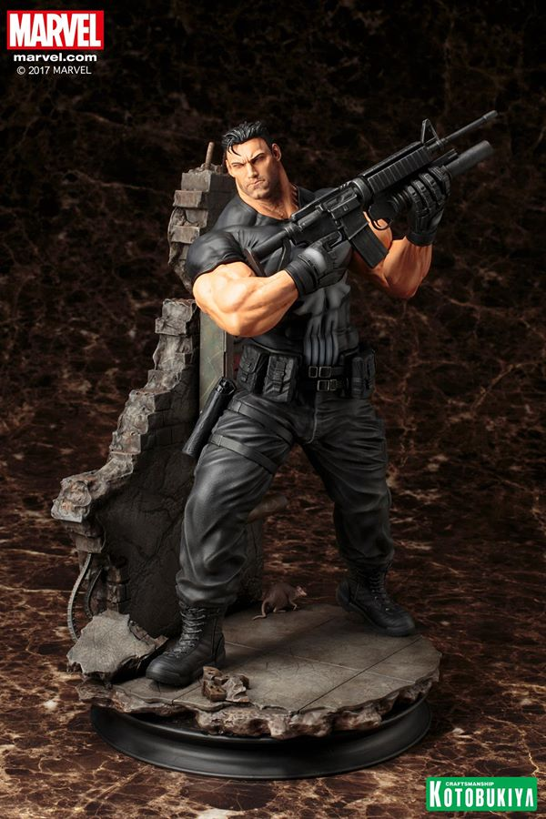 Kotobukiya Marvel Punisher Fine Art Statue