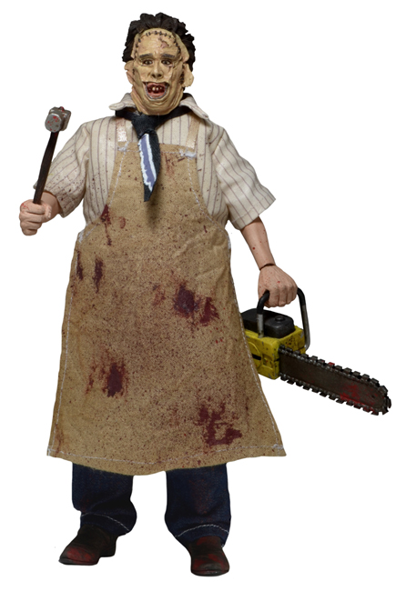 NECA Texas Chainsaw Massacre Leatherface 8 Inch Figure
