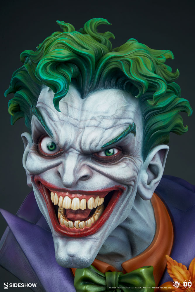 Pre-Order Sideshow DC Comics The Joker Life Size Bust