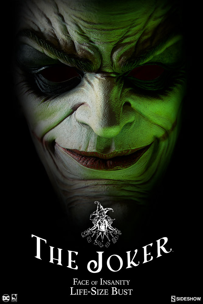 Pre-Order Sideshow DC Comics Joker Life Size Bust