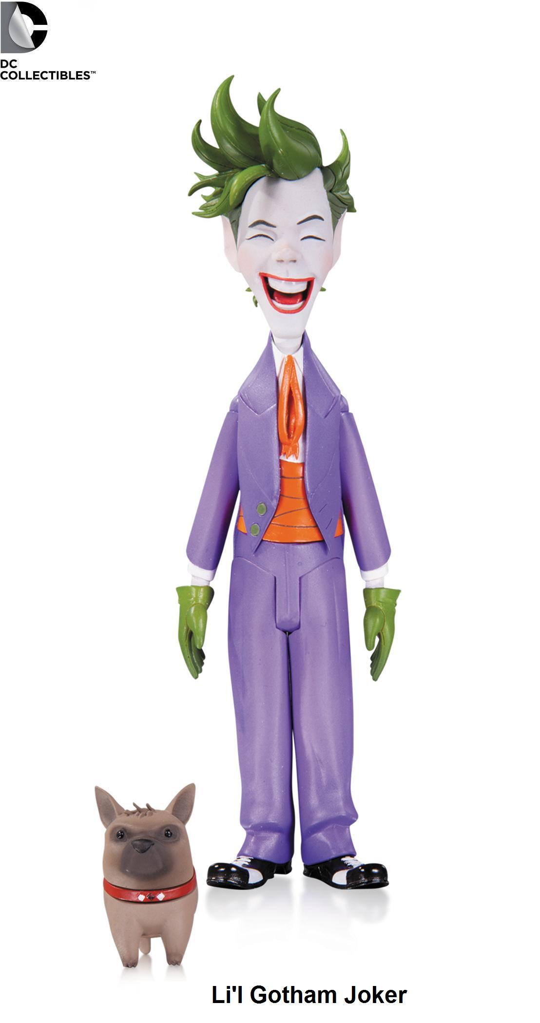 DC Comics Batman Li'l Gotham Joker Figure