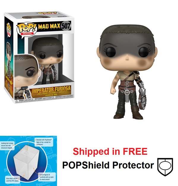 Funko POP Movies Mad Max Fury Road Imperator Furiosa #507