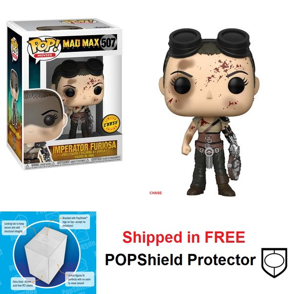 Funko POP Movies Mad Max Fury Road Imperator Furiosa #507 Chase