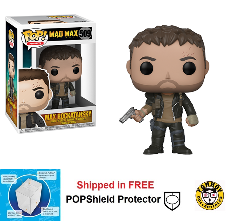 Funko POP Movies Mad Max Fury Road Max Rockatansky - #509