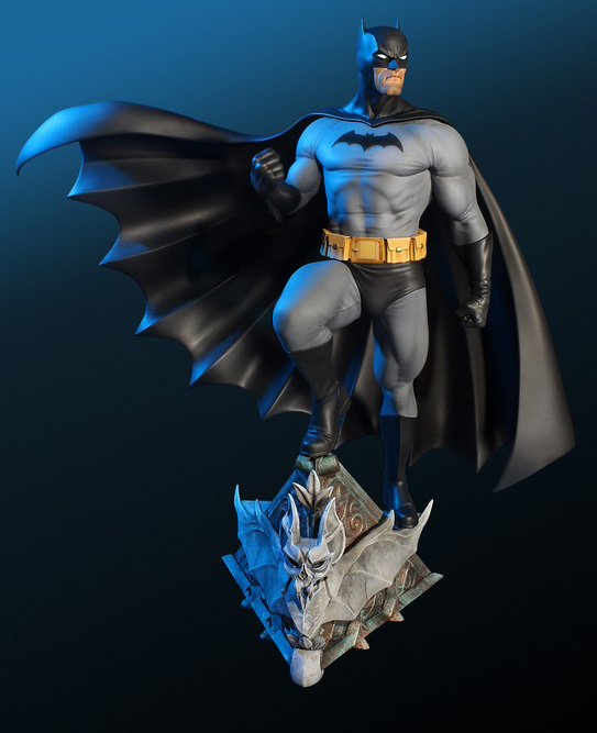 Tweeterhead DC Comics Batman Variant Super Powers Maquette