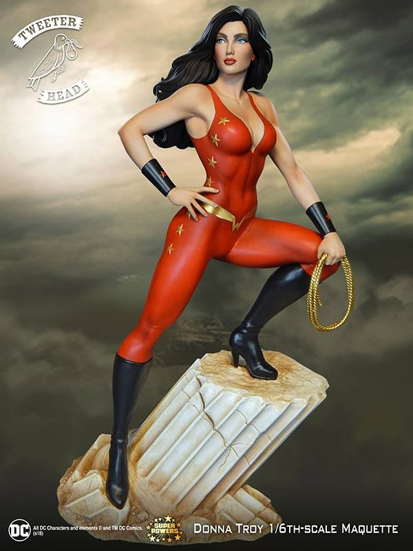 Tweeterhead DC Comics Donna Troy Super Powers Maquette