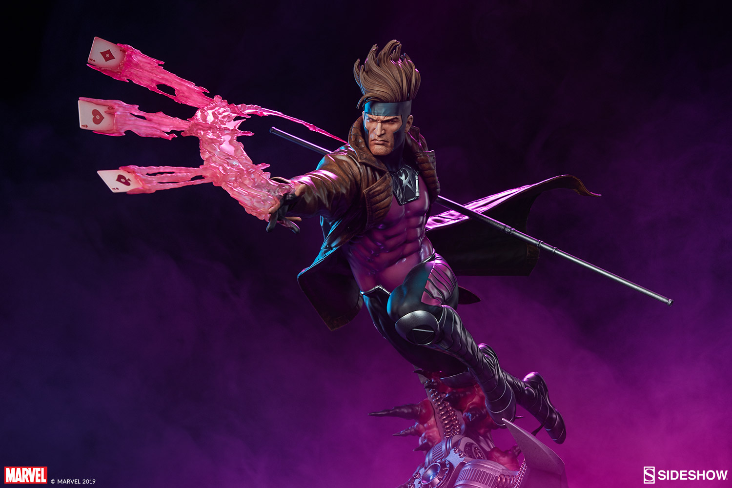 Pre-Order Sideshow Marvel Gambit Maquette