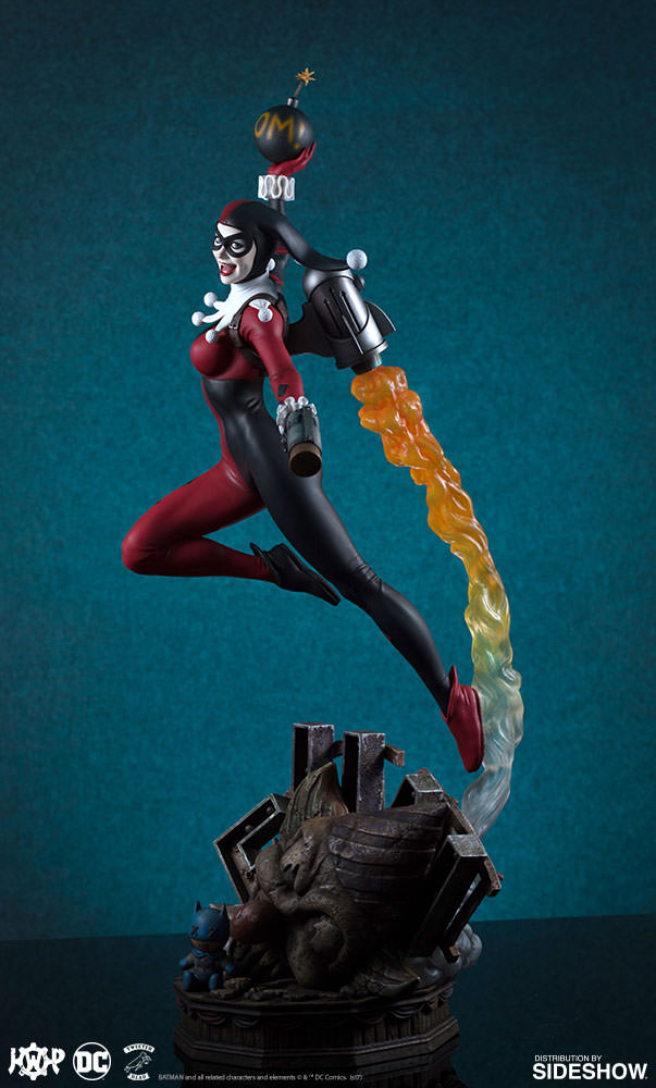 Tweeterhead DC Comics Harley Quinn Super Powers Maquette