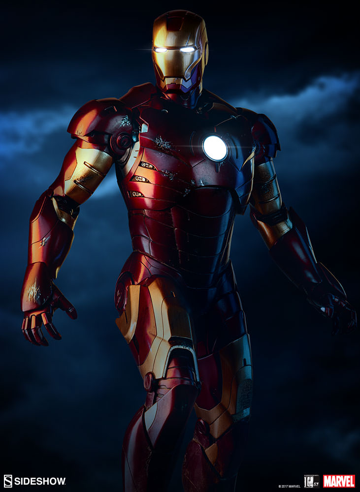 Pre-Order Sideshow Marvel Iron Man Mark III Maquette