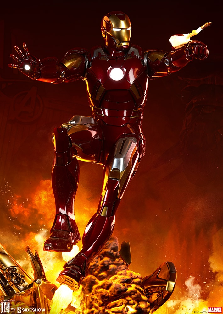 Pre-Order Sideshow Marvel Iron Man Mark VII Maquette