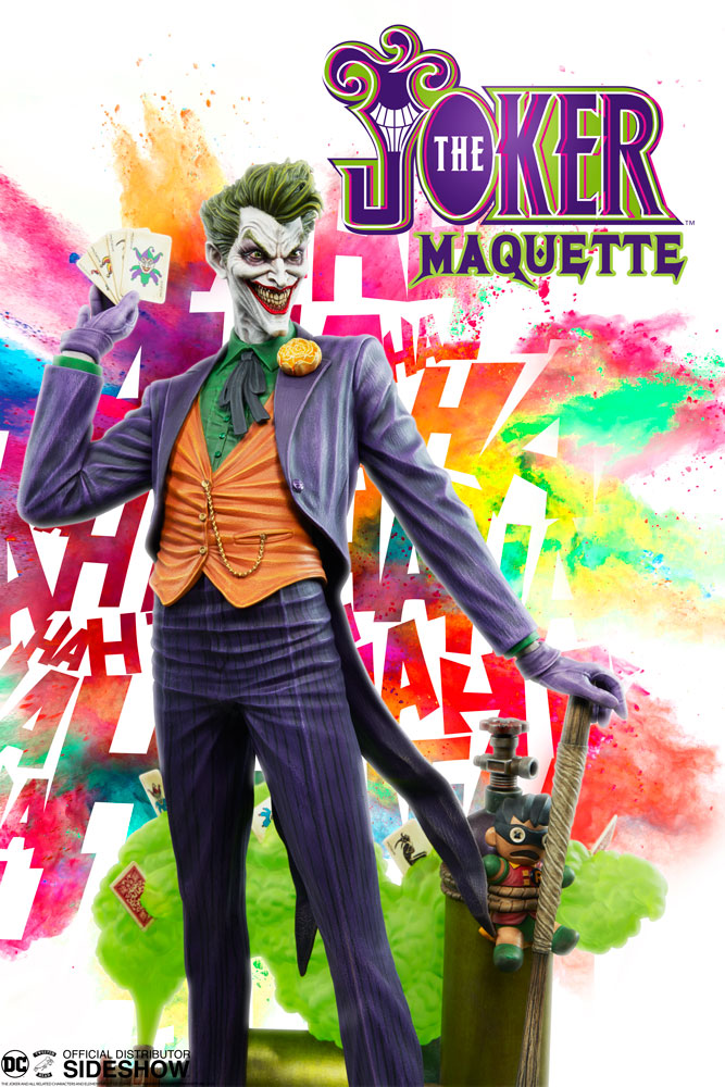 Tweeterhead DC Joker Super Powers Maquette