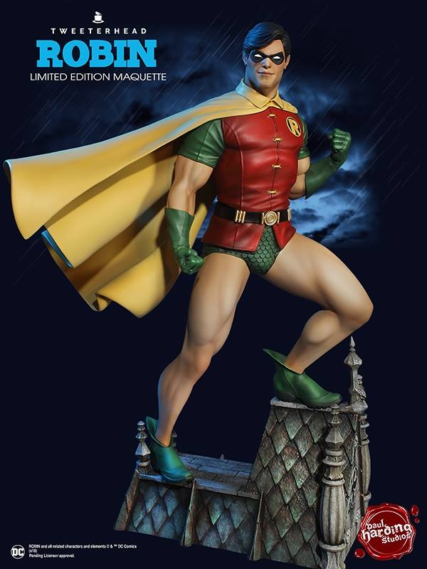 Tweeterhead DC Comics Robin Super Powers Maquette